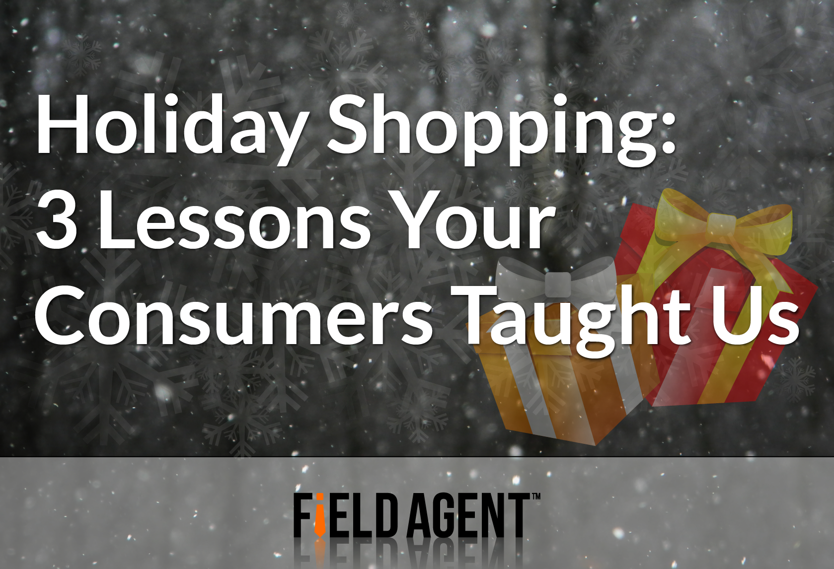 Holiday Shopping: 3 Lessons Your Consumers Taught Us