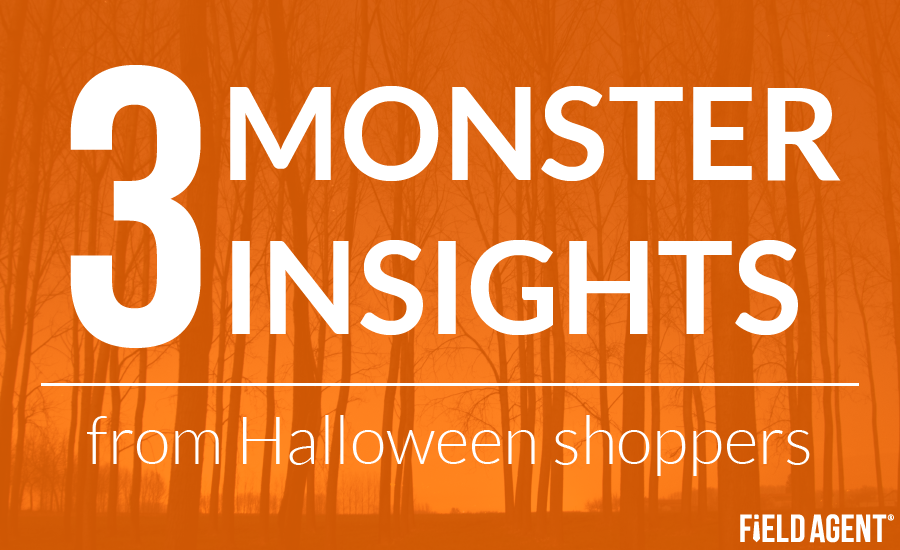 3 Monster Insights from Halloween Shoppers