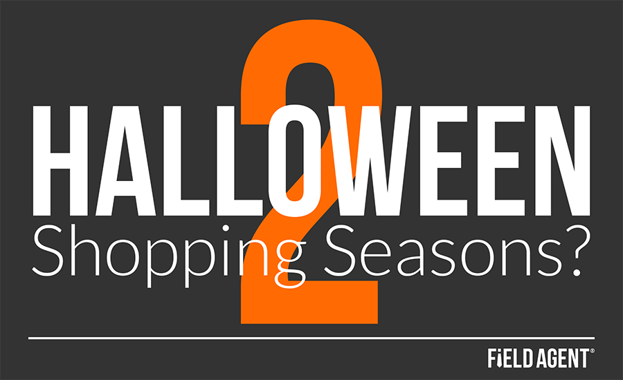2 Halloween Shopping Seasons?