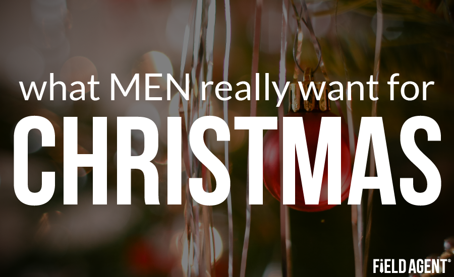 what men really want for christmas