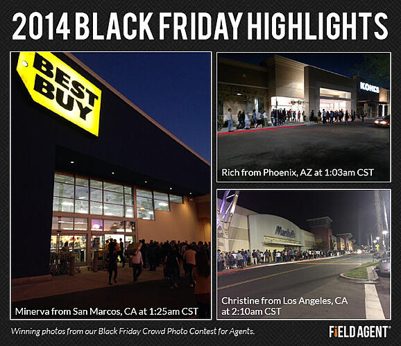 2014 Black Friday Highlights [AGENT PHOTOS]