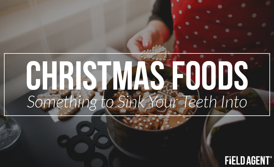 Christmas Foods: Something to Sink Your Teeth Into