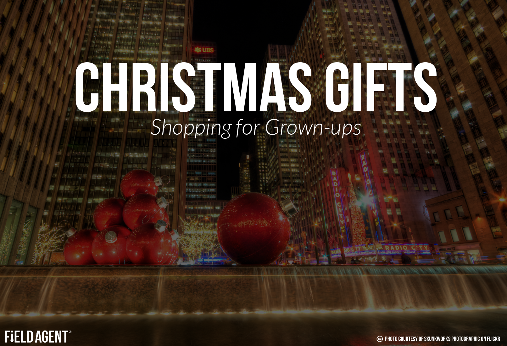 Christmas Gifts: Shopping for Grown-ups