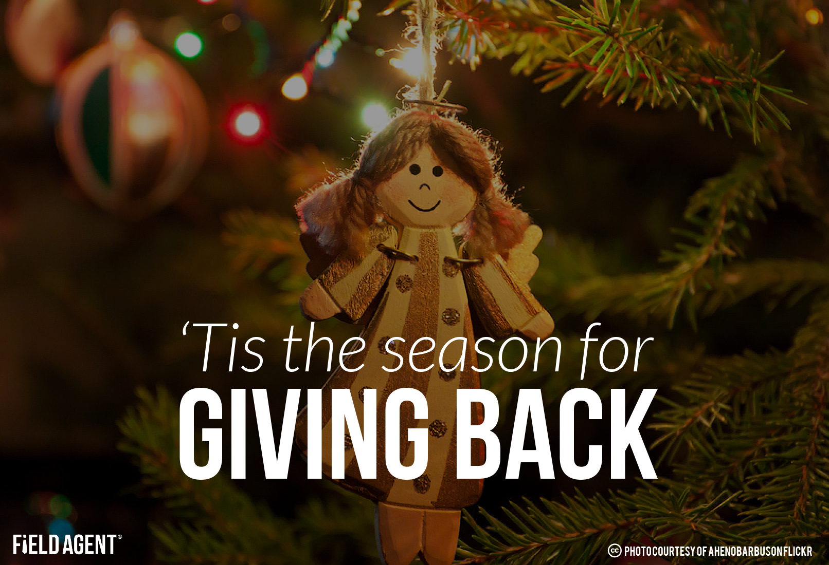 'Tis the season for Giving Back