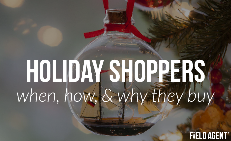 Holiday Shoppers: when, how, & why they buy