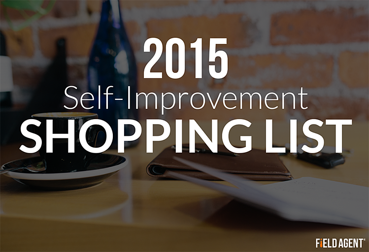 2015 Self-Improvement Shopping List