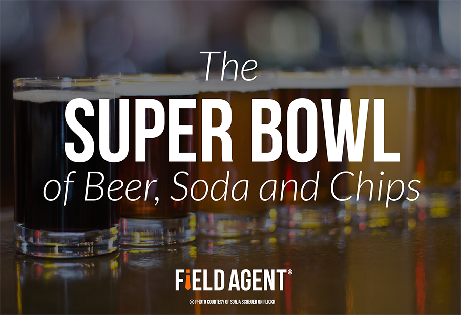 The Super Bowl of Beer, Soda and chips