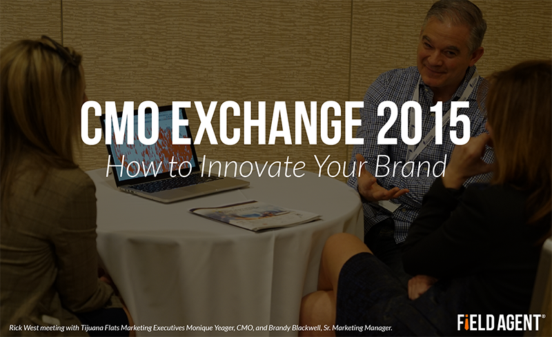CMO Exchange 2015: How to Innovate Your Brand