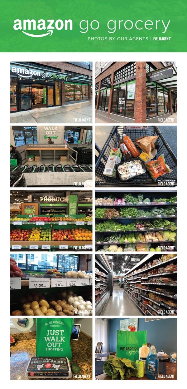 Amazon Go Grocery Photo Gallery