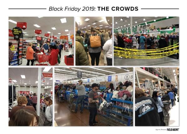 Black Friday 2019 Crowds