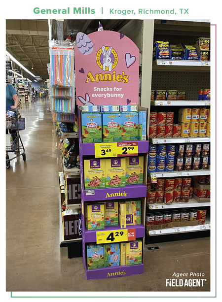 Easter Displays 2021 General Mills