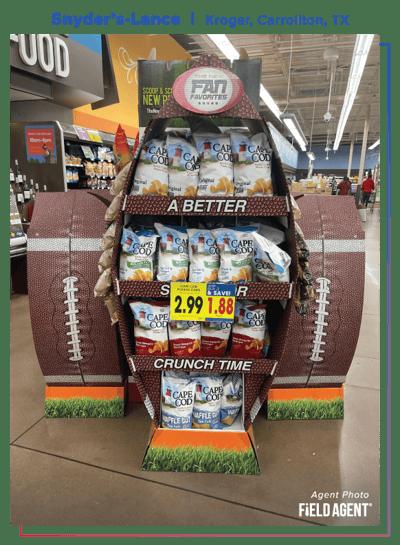 Snyder's-Lance 2021 Super Bowl Display