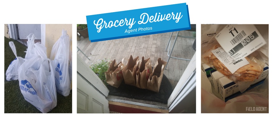 Albertsons Grocery Delivery Bags Agent Photos