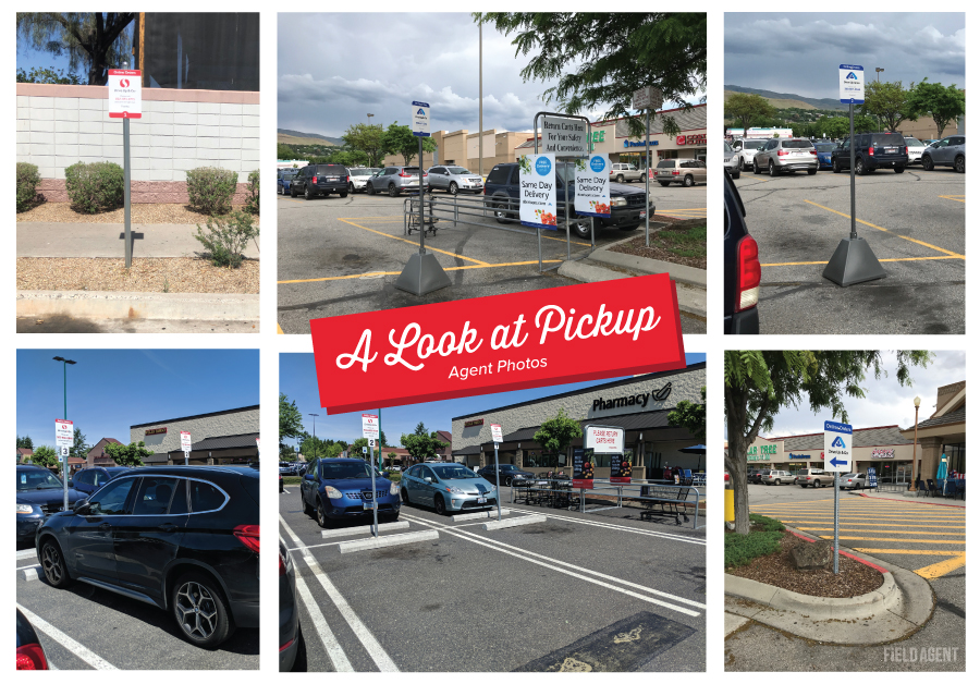 Albertsons Pickup Agent Photos