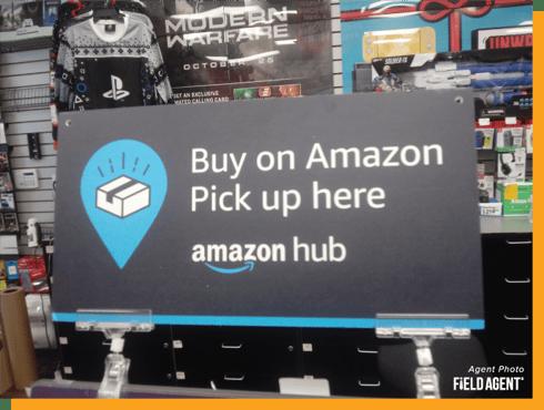Amazon Counter Agent Photo