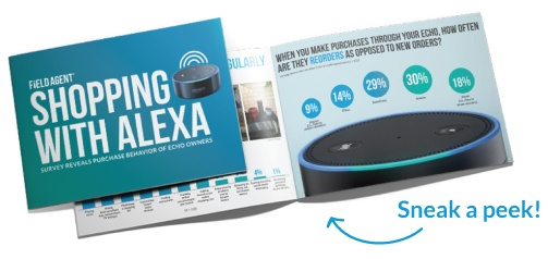 Click to download Shopping with Alexa - Survey Reveals Purchase Behavior of Echo Owners