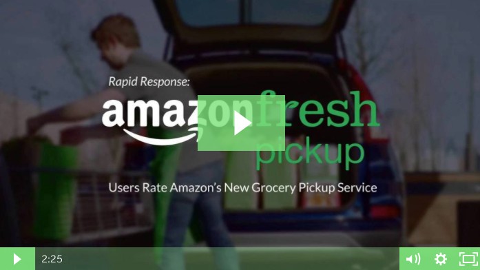 Amazon Fresh Pickup Video