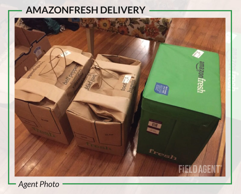 AmazonFresh Delivery Packages