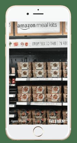 Amazon Go Store Shelves Agent Photo