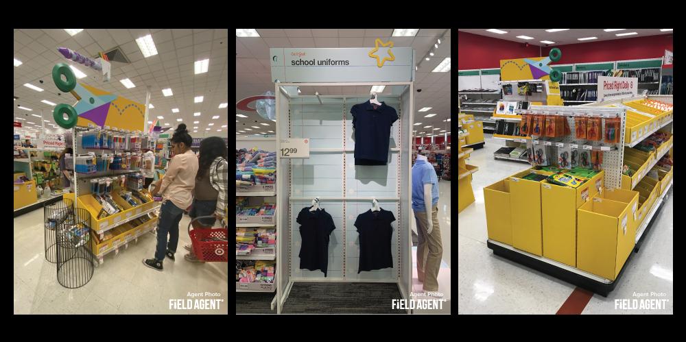 Back-to-School Target Displays