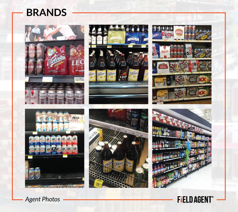 Beer Display Audits - Brands