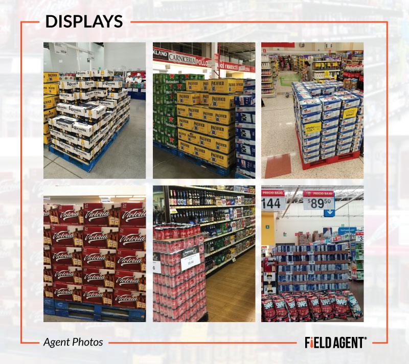 Beer Display Audit - Displays