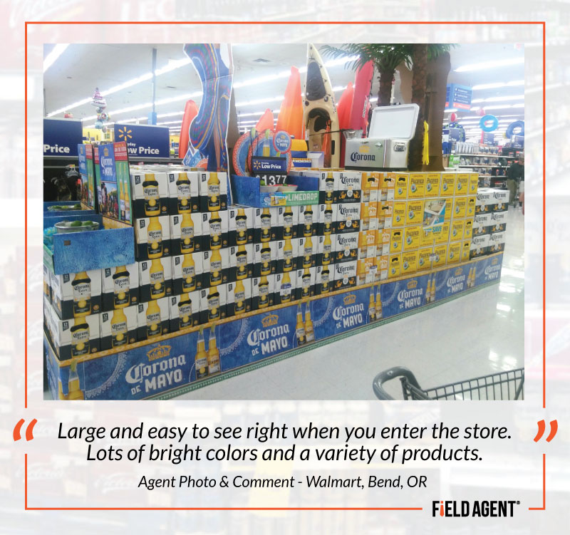 Agent Photo & Comment - Walmart, Bend, OR