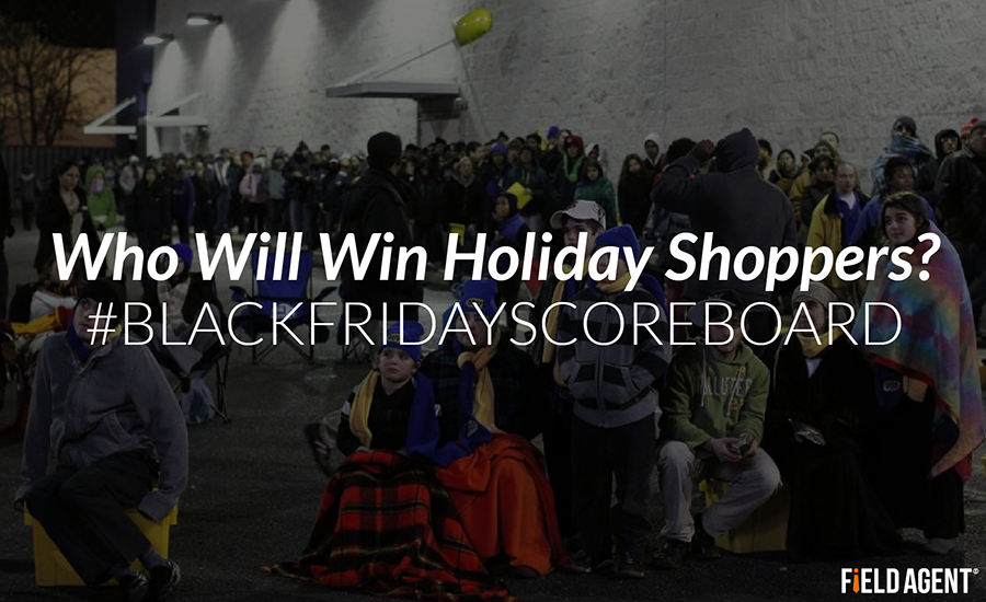 Who will win holiday shoppers on Black Friday?