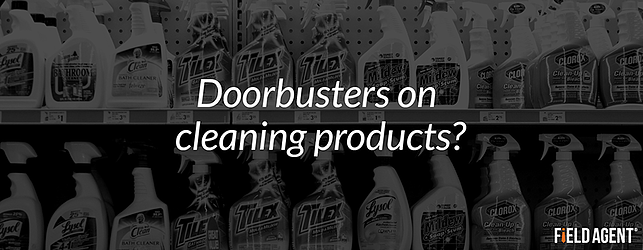 Doorbusters on cleaning products?
