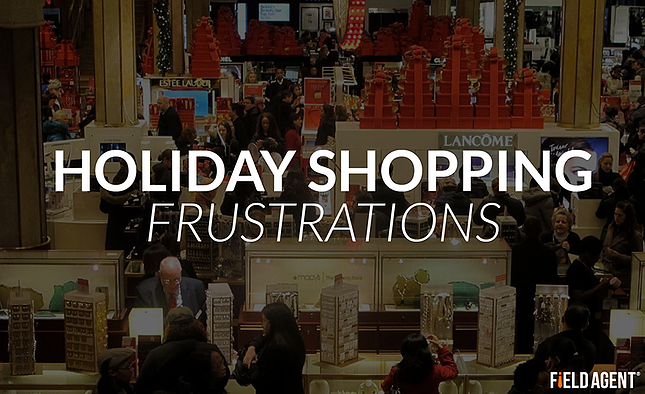 Holiday Shopping Frustrations - Christmas shopping