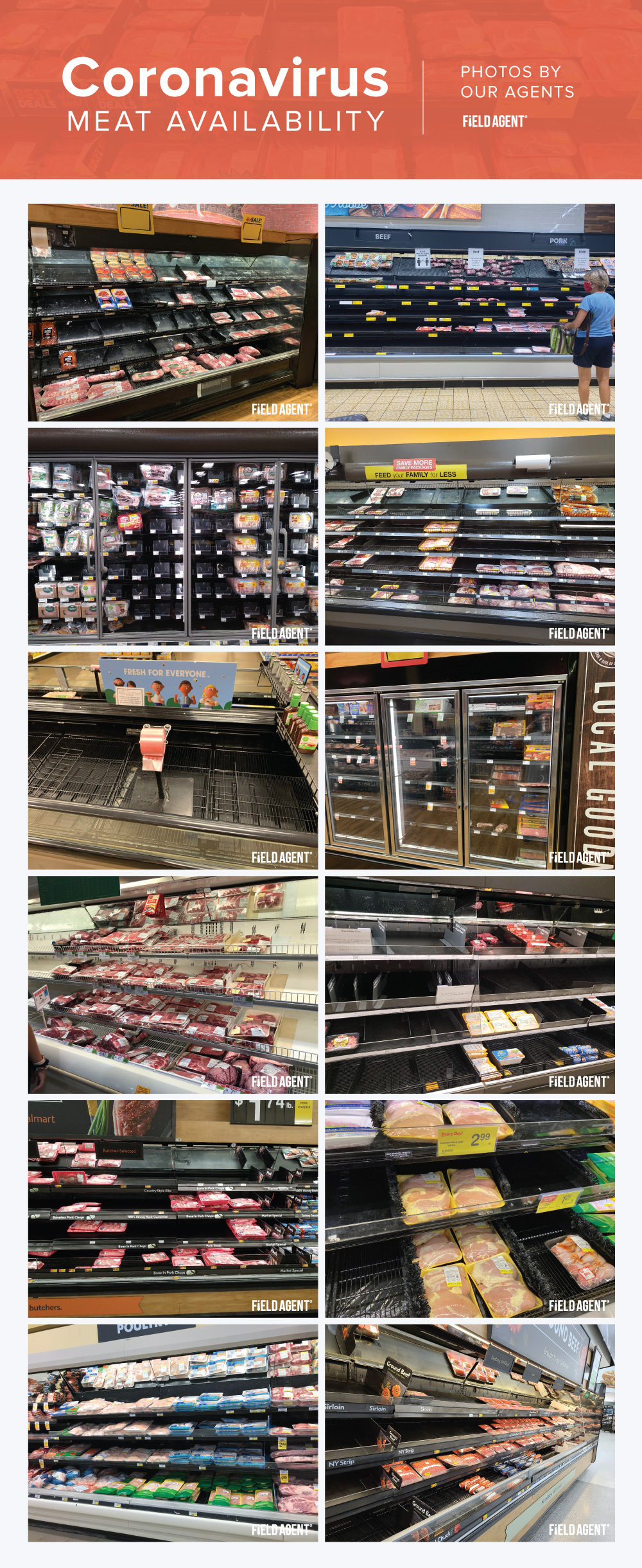 Coronavirus Meat-Shortages Agent Photo Gallery