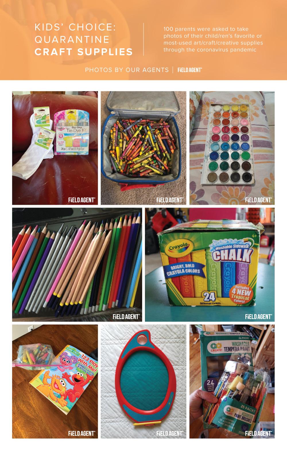 Coronavirus Shopping for Kids Quarantine Craft Supplies Agent Photo Gallery