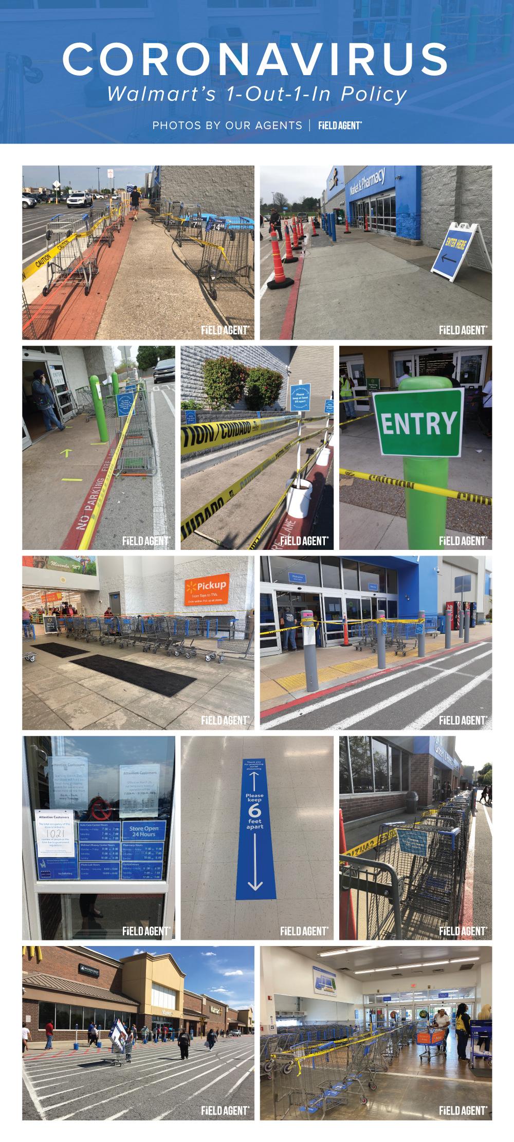 Coronavirus Walmart Agent Photo Gallery