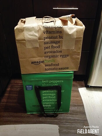 Amazon Fresh Agent Photo