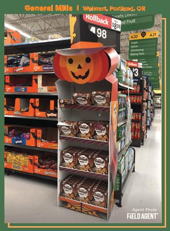 Halloween Displays 2020 General Mills - Agent Photo