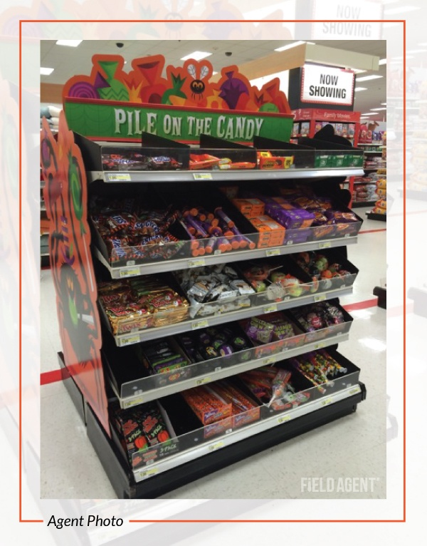 Halloween Candy In Store
