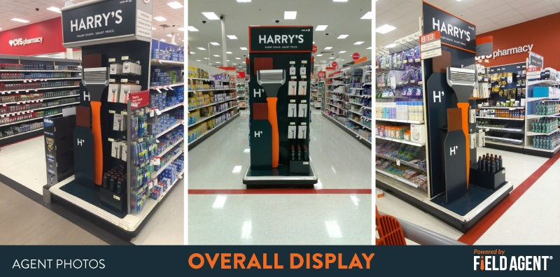 Harry's Overall Display Agent Photos