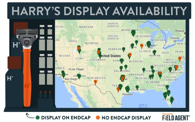 Harry's Display Availability [INFOGRAPHIC]