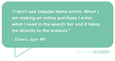 Online Impulse Purchases Agent Quote
