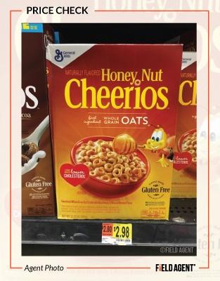 Honey Nut Cheerios Price Check