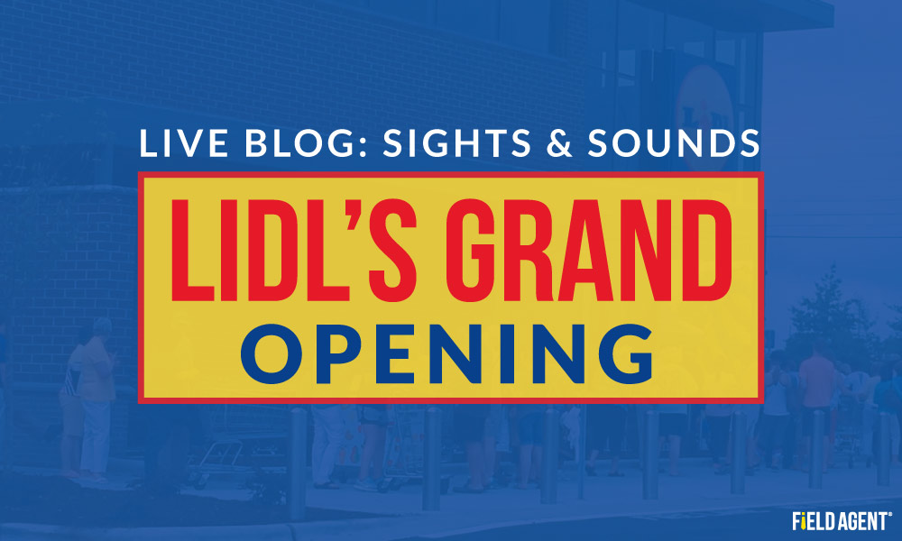 Lidl Grand Opening Blog
