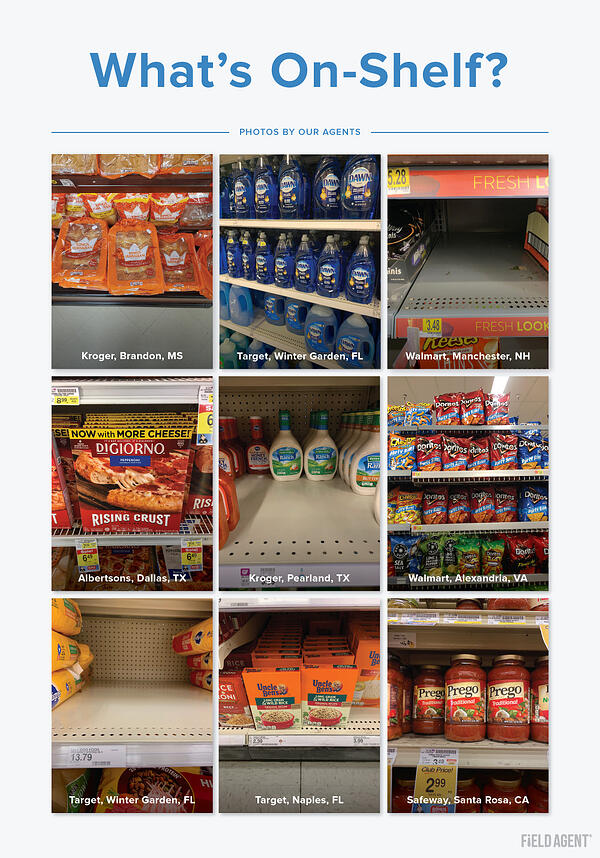 On-Shelf Availability: What's On-Shelf Agent Photo Gallery