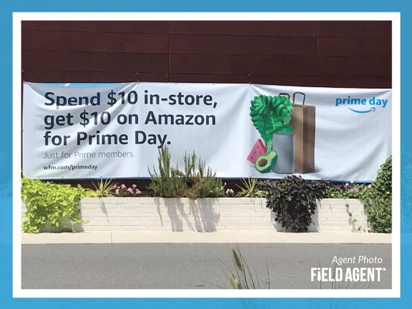 Amazon Prime Day Banner Agent Photo