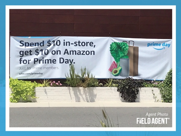 Amazon Prime Day Banner Agent Photo