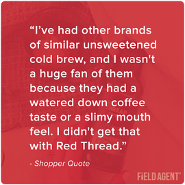 Red Thread Case Study Shopper Quote