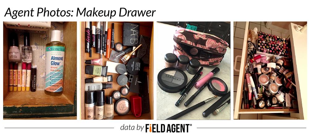 Makeup Drawer, agent photos
