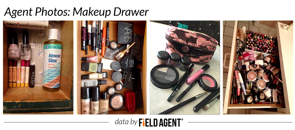 Makeup Drawer, agent photos
