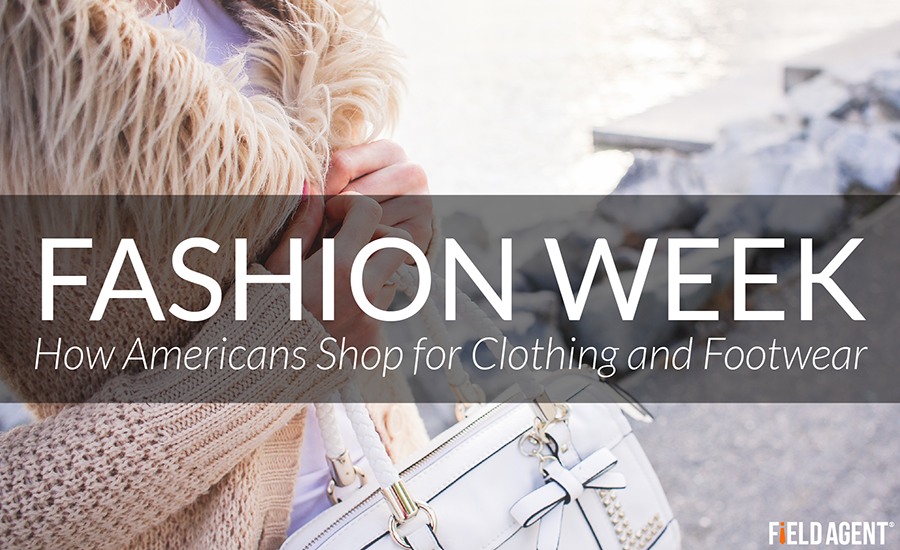 Fashion Week, How Americans Shop for Clothing and Footwear