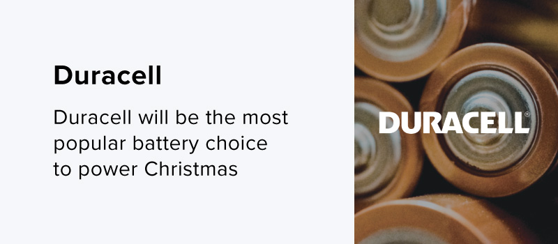 Top Battery Brand - Duracell