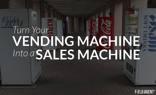 Vending Sales, Turn your vending machine into a sales machine